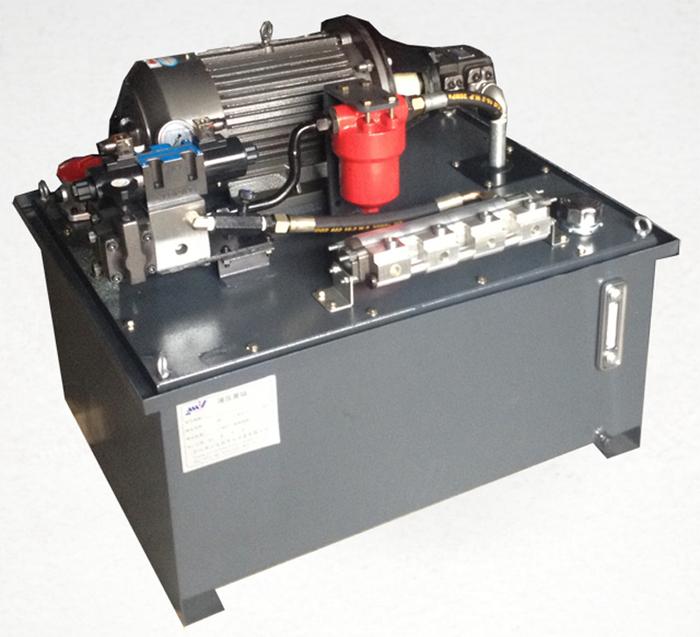 四缸同步液壓系統