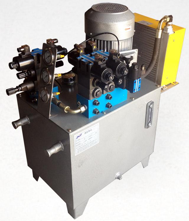 收圈機液壓系統
